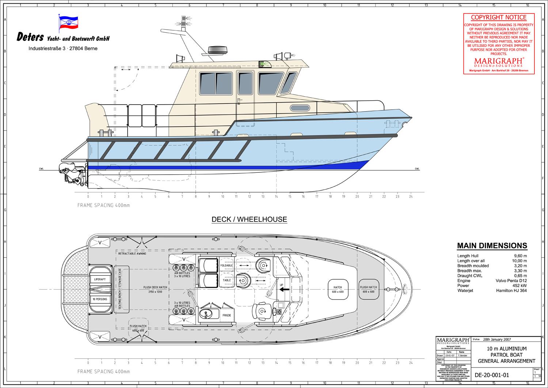 Aluminum Rib Boat Plans